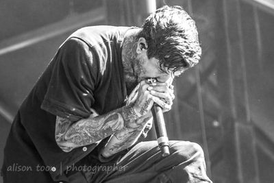 Austin Carlile, Of Mice and Men, Aftershock 2014