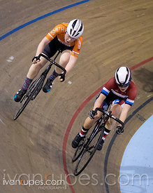 Cat 2 Women Points Race, 2017/2018 Track Ontario Cup #3, Mattamy National Cycling Centre, Milton On, February 11, 2018