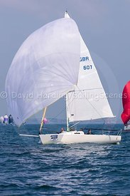 Jac Y Do, GBR607, J/80, Poole Regatta 2018, 20180526203