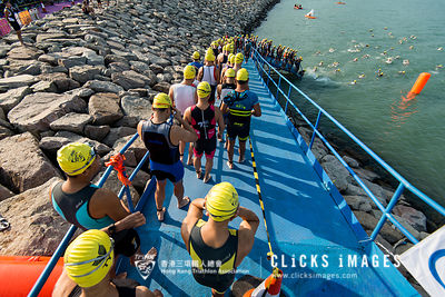 香港人壽 ASTC 三項鐵人亞洲杯 Hong Kong Life ASTC Sprint Triathlon Asian Cup at Sunny Bay on October 21, 2017 in Hong Kong