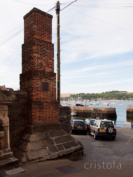 Falmouth harbour, the King's pipe