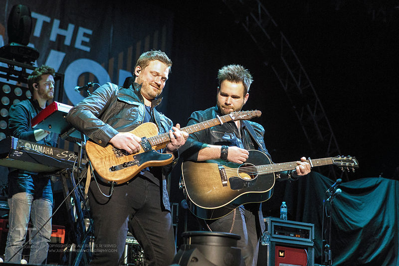 Hoopla - Swon Brothers, US Cellular Center, January 30, 2015