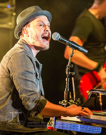 Hoopla - Gavin DeGraw, McGrath Amphitheater, July 10, 2014