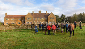 The Belvoir Hunt meet at Waltham House 22/12