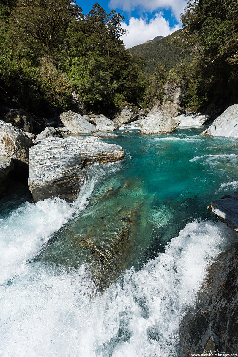 Makarora river, Mount Aspiring National Park - New Zealand