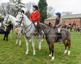 Tom Kingston At the meet at Merrivale Farm 5/1