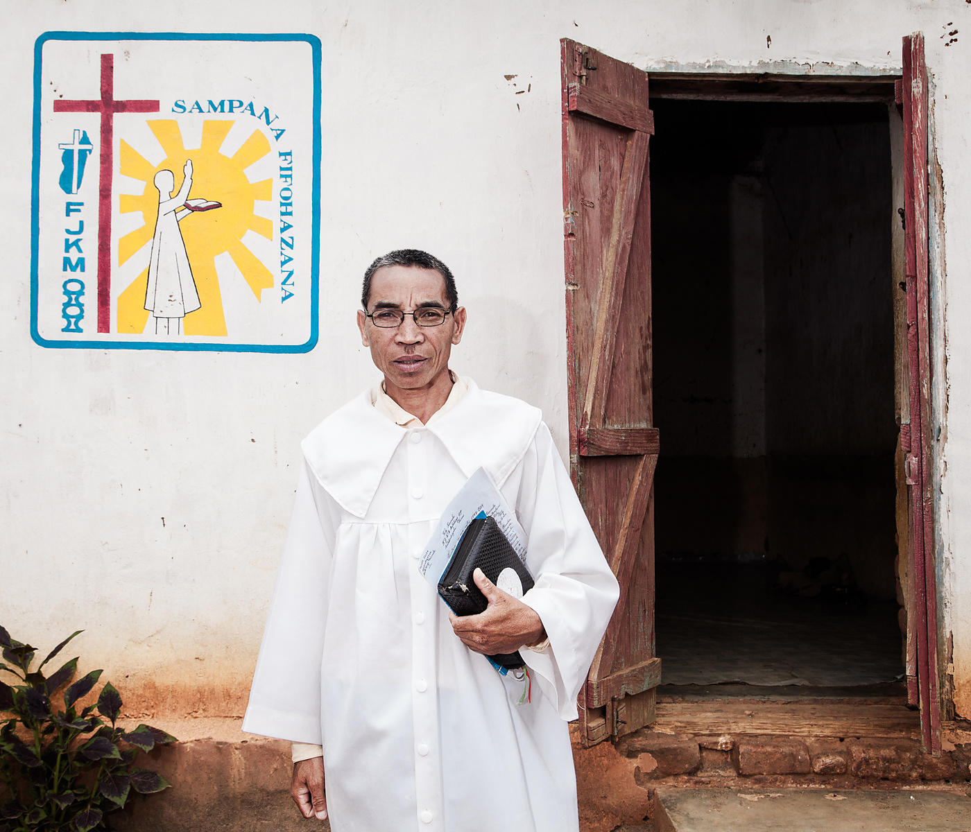 "MAHATSINJO - Mr Samson, married, 3 children, is pastor of the Protestant FJKM church at Toby Karmela. A ""toby"" (which can be ..."
