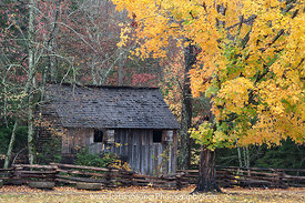 Fall at Cable Mill