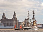 Tall Ships on the River Mersey