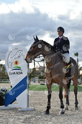 Oliva, Spain - 2018 January 27: Bronze tour 1m10 during CSI Mediterranean Equestrian Tour 1..(photo: 1clicphoto.com I Herve B...