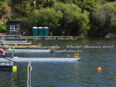Taken during the World Masters Games - Rowing, Lake Karapiro, Cambridge, New Zealand; ©  Rob Bristow; Frame 419 - Taken on: T...