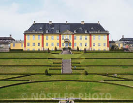 The terraced gardens of Ledreborg Palace