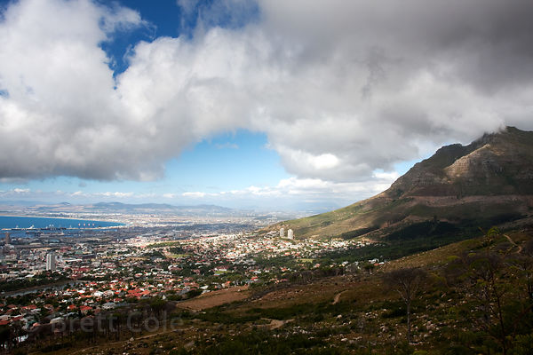 Cape Town, South Africa, from Table Mountain