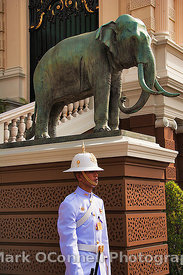 Thai palace guard