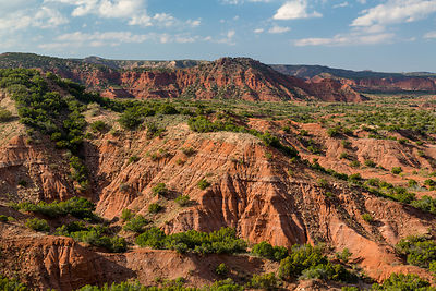 Colorful Caprock Canyon