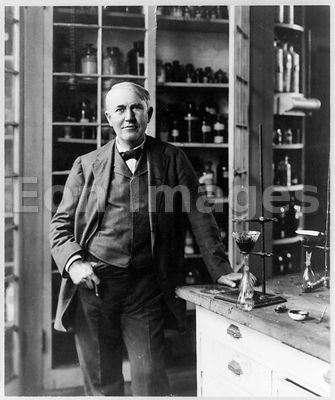 Thomas Edison in 1904