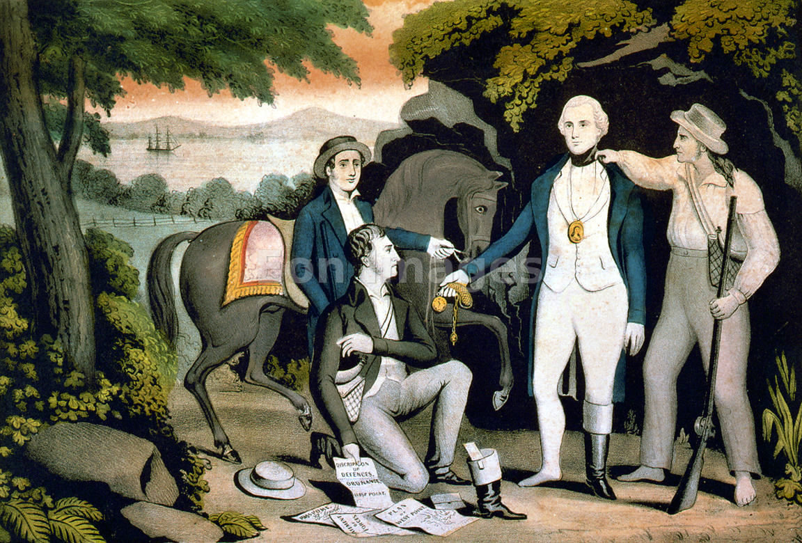 Capture of John Andre