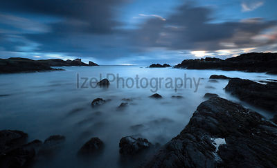 Dusk at Clachtoll Bay - Landscape Photography
