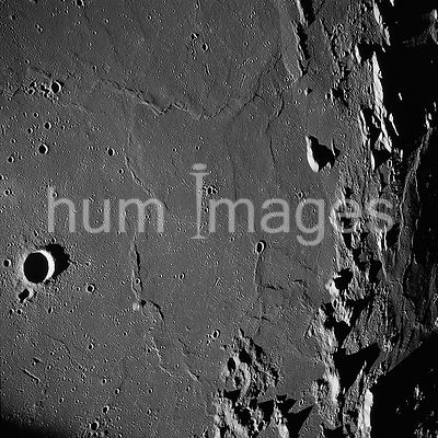 (18-26 May 1969) --- Apollo 10 westward view across Apollo Landing Site 3 in the Central Bay.