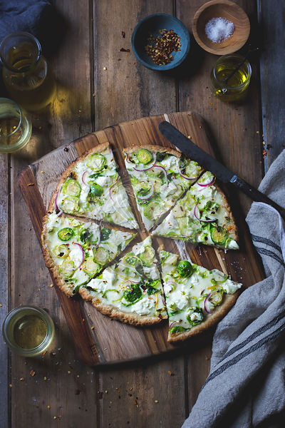 Brussels Sprout Pizza.