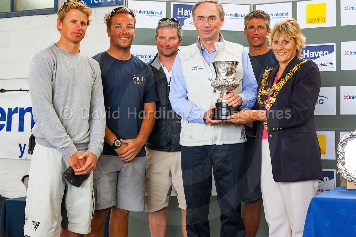 Prizegiving, International Paint Poole Regatta 2016, 20160530580
