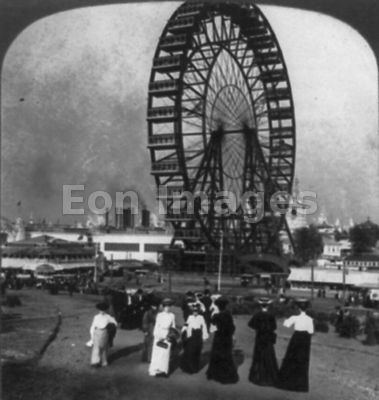 St. Louis erects Ferris wheel from Chicago World's Fair