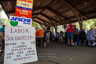 Iowa City Federation of Labor Labor Day Picnic, September 2, 2013