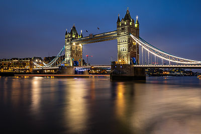 Tower bridge at blue hour