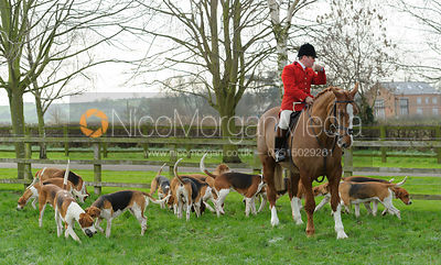 The Belvoir Hunt at Long Clawson 16/1