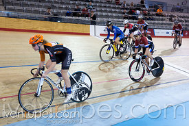 Women Keirin 1-6 Final. 2016/2017 Track O-Cup #3/Eastern Track Challenge, Mattamy National Cycling Centre, Milton, On, February 12, 2017