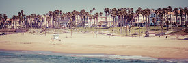 Huntington Beach California Vintage Photo