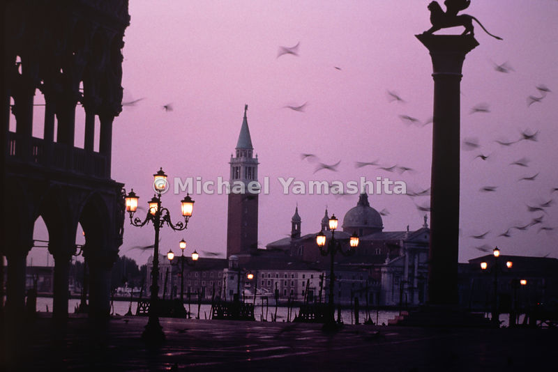 St Mark's Campanile is the 323 foot bell tower in Piazza San Marco and is one of the most prominent symbols of the city. Veni...