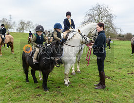 Frances Moulaert At the meet at Merrivale Farm 5/1