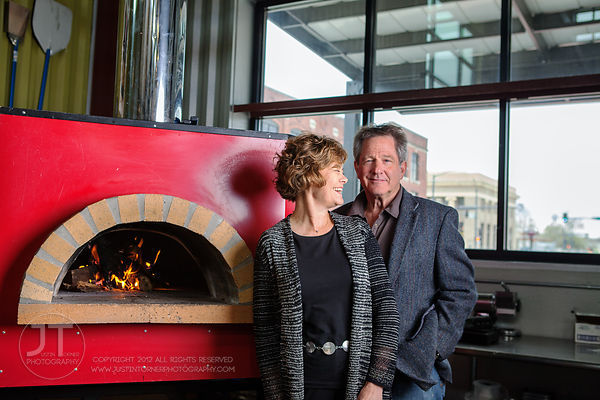 Gazette - Jerry and Carolyn Zimmerman, Maggie's Wood Fired Pizza