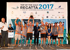 Imagine, winners of IRC 1, Top of the Gulf Regatta 2017