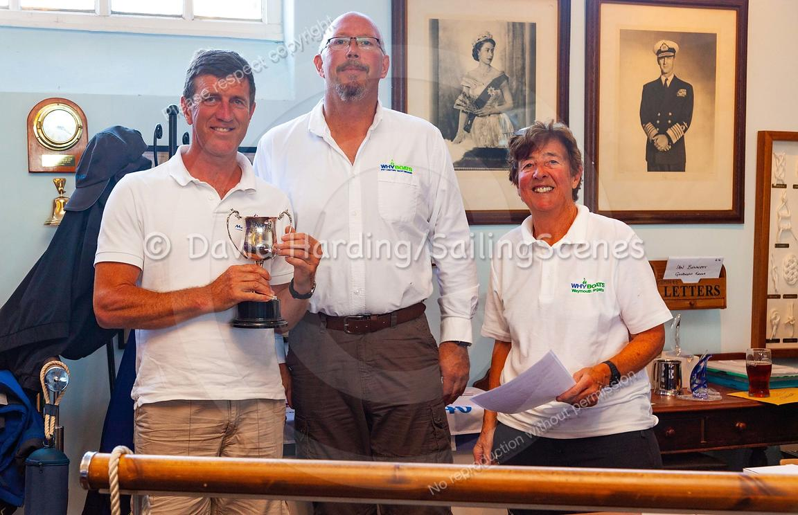Prize-giving at Weymouth Regatta 2018, 20180909026.