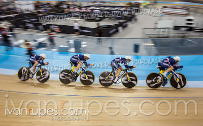 Team Pursuit Qualifications, Track World Cup Milton, October 25, 2018