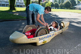 Biomobile et Miss Suisse romande 2013