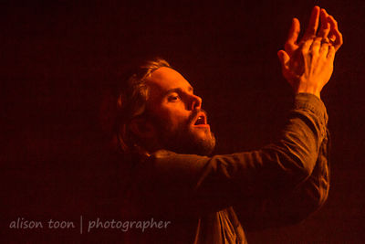 Tommy Rogers, vocals and keys, Between The Buried And Me