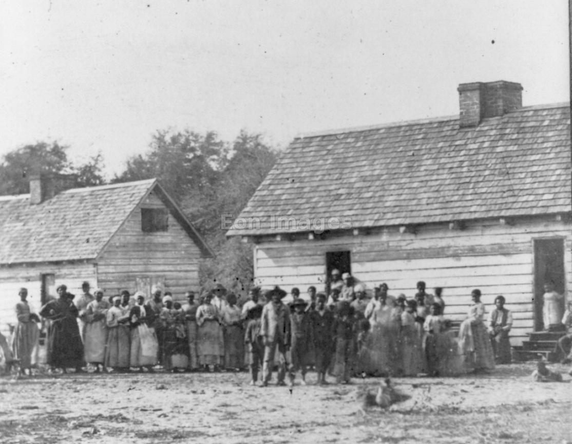 Slaves on a plantation in South Carolina