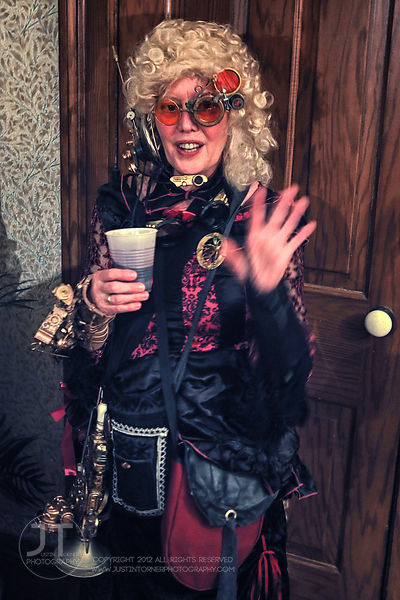 Hoopla - Steampunk Halloween Party, Granger House, October 25, 2014