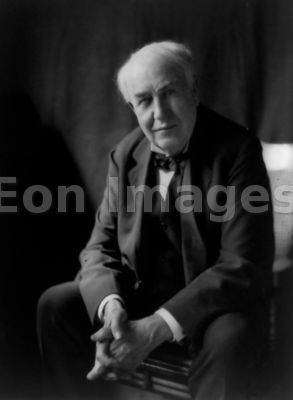 Thomas Edison in 1922
