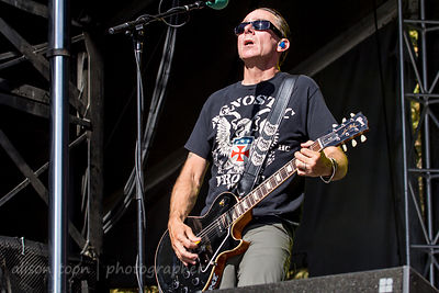 Brian Baker, guitar, Bad Religion, Aftershock 2014