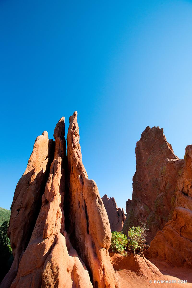 GARDEN OF THE GODS COLORADO SPRINGS COLORADO COLOR VERTICAL