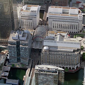 Office Buildings at Canary Wharf