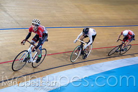 U17 Men's Team 3-4 Sprint Final. 2015 Canadian Track Championships, October 9, 2015