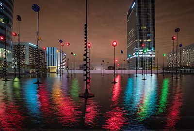 Takis Basin, La Défense, Paris