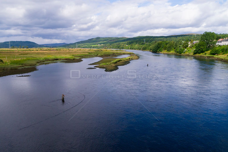 Fly Fishermen in the Kyle of Sutherland