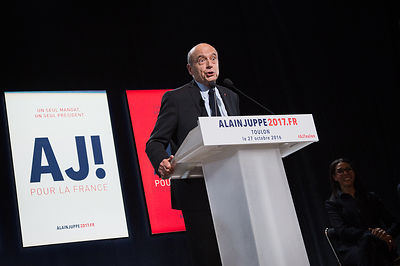 Meeting d Alain Juppe a Toulon