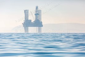 Corallian Energy's Enesco 72 oil rig in Poole Bay, 20190225051